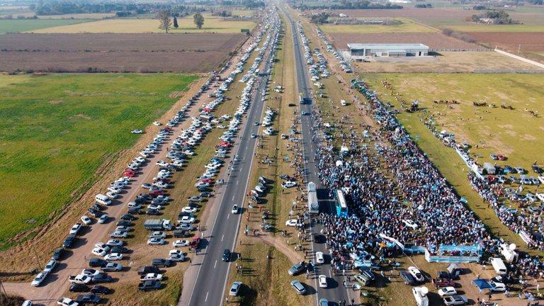 Lo que dejó la marcha de San Nicolás: nueva relación entre el campo y la ciudad y primeras reacciones del Gobierno
